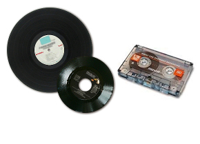 Cassette or Viny Record Conversion to MP3