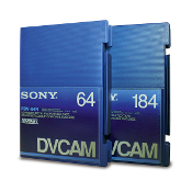 DV and DVCAM professional videotapes conversion to DVD and digital video files for editing