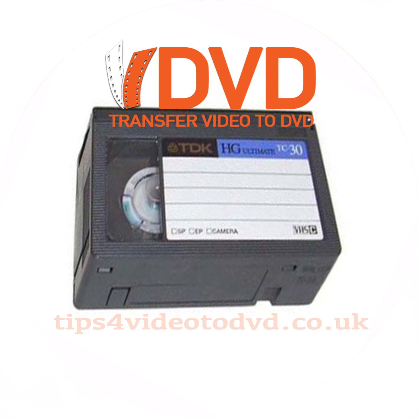 VHSc tape to dvd