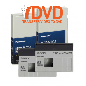 High Definition DV Tape to DVD